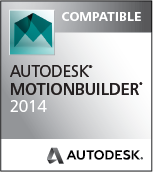 MotionBuilder 2014 Compatible